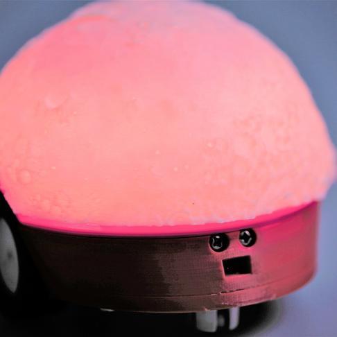 桌面彩色互动台灯
