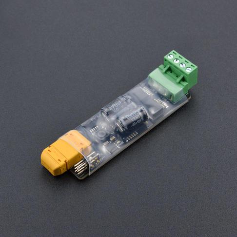 PPM双路电机驱动板 - Mini格斗机器人/航模专用