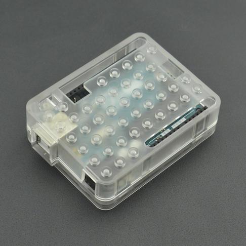 Arduino UNO R3开发板透明ABS外壳(兼容乐高积木)