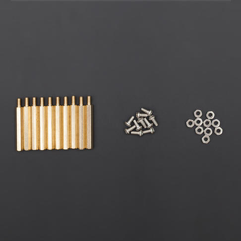 M3*30六角铜柱(带螺丝、螺帽)10套