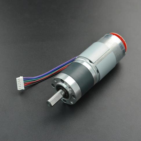 12V 184P 齿轮电机 带编码器