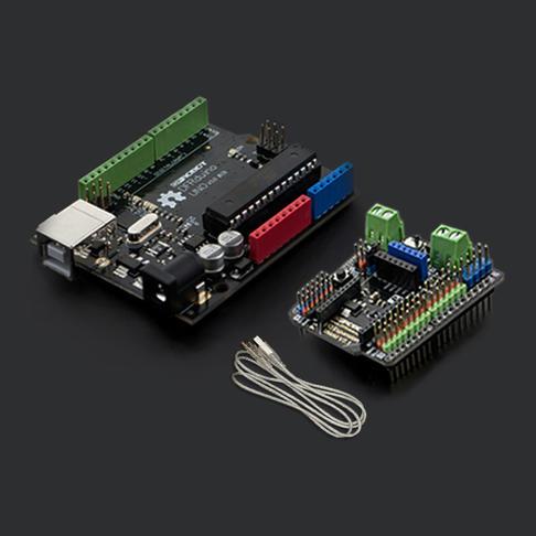 DFRduino UNO R3(含USB线|传感器扩展板)
