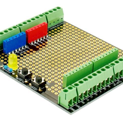 Proto Screw Shield Assembled(Arduino兼容)