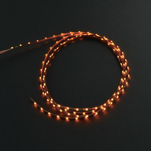 2.5mm柔性灯带(12V 120灯)黄色