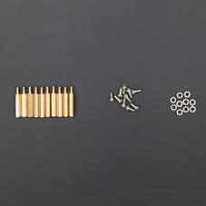 M3*20六角铜柱(带螺丝、螺帽)10套