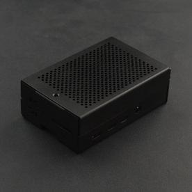 DFRobot创客商城新品推荐树莓派4代金属外壳(带风扇、散热片)