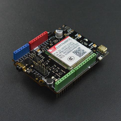 SIM7600CE-T 4G(LTE) Arduino扩展板