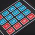4*4 薄膜数字键盘(背面带贴纸)