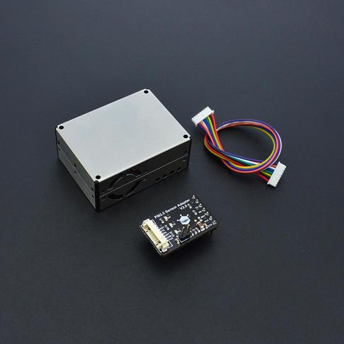 Arduino空气质量监测仪 (PM2.5, 甲醛, 温湿度)