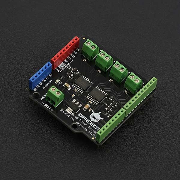 Arduino四路电机驱动板