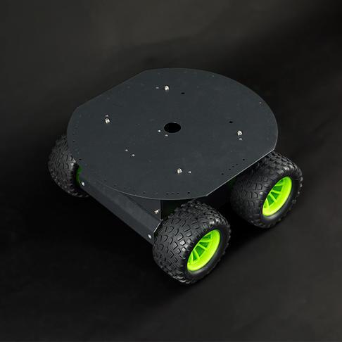 4WD四驱监控机器人平台