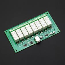 继电器-USB控制继电器模块8路16A (原装进口)