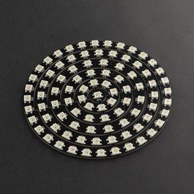 DFRobot显示模组-93灯/6环WS2812BRGB圆环灯