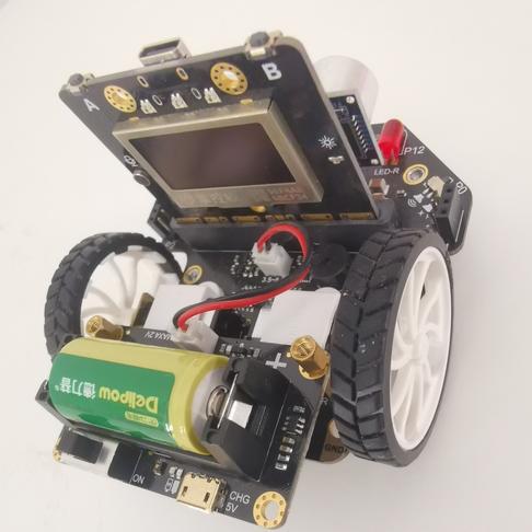 掌控麦昆小车——AI创意遥控器(玩转线上 尽享创意)(创意活动节)