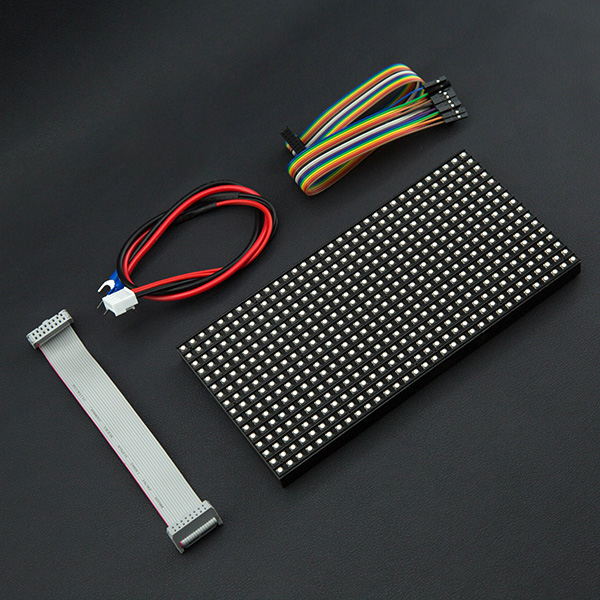 32x16 RGB LED Matrix - 6mm pit...