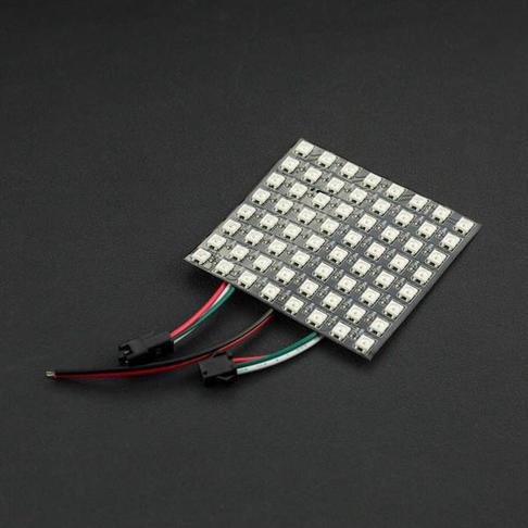 8x8 RGB全彩LED柔性点阵屏