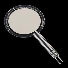 压力/弯曲传感器-11.3公斤薄膜压力传感器 -  (2.54cm面积)