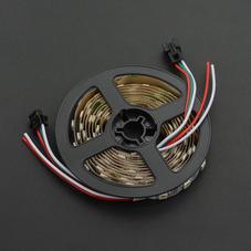 灯带/点阵屏-炫彩 WS2812 RGB LED可剪裁白色灯带  120灯