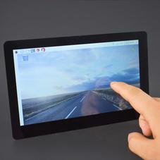 树莓派配件-7寸LCD电容式触摸屏 (1024×600 HDMI高清输出...