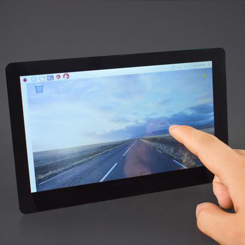 7寸LCD电容式触摸屏 (1024×600 HDMI高清输出)