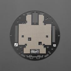 功能组件-MiniQ小车传感器安装板