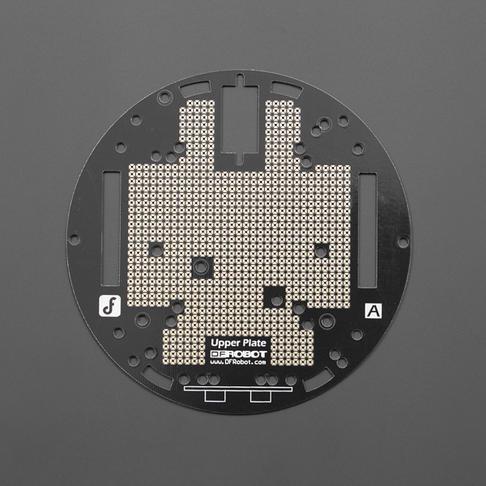 MiniQ小车传感器安装板