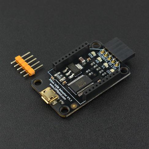 XBee USB Adapter 适配器 (带FTDI烧写功能)