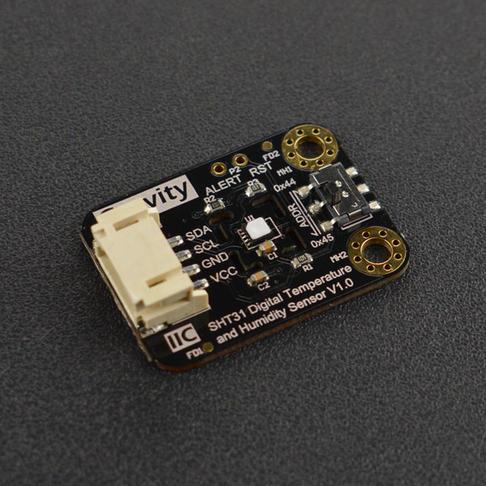Gravity SHT31-F数字温湿度传感器