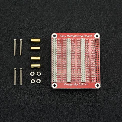 树莓派GPIO扩展板-兼容树莓派2/3