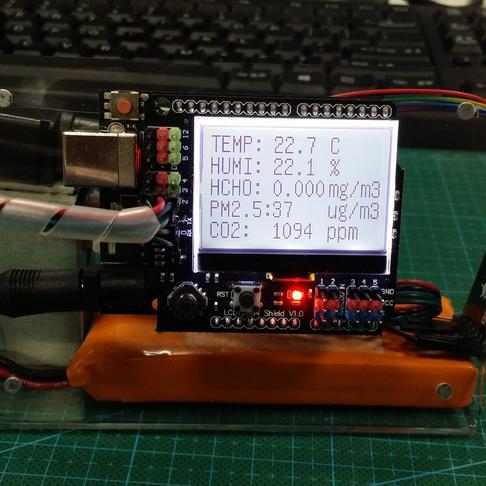 DIY室内空气质量监测仪