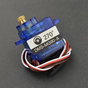 DFRobot新品推荐-9g 270度金属带模拟值反馈舵机(1.5kg)
