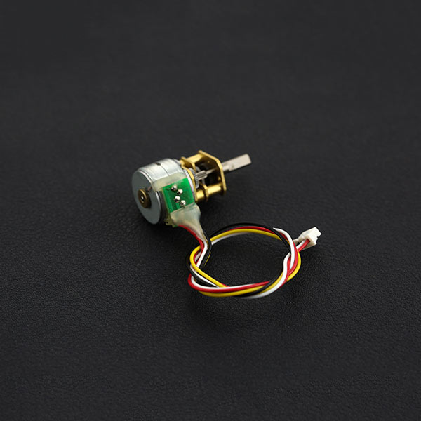 微型金属减速步进电机 (12V 0.6Kg.cm)