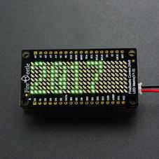 灯带/点阵屏-FireBeetle 24×8 LED点阵屏(绿色)