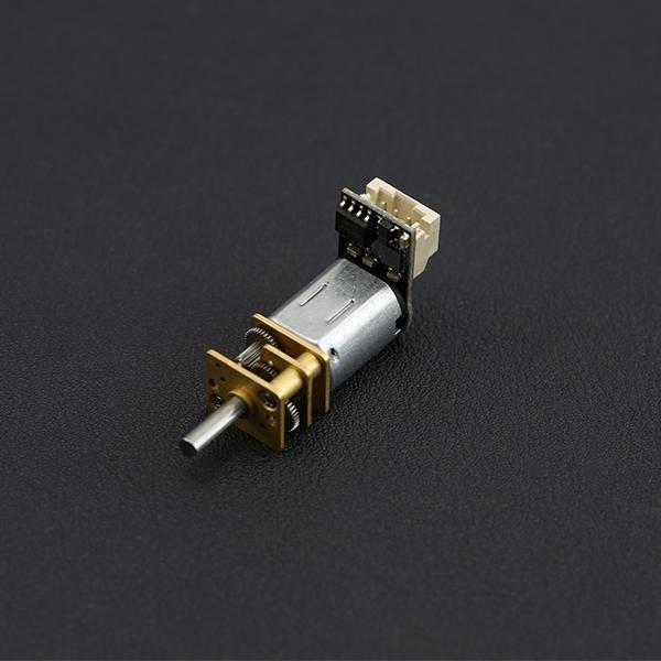 电机热卖推荐-带驱动N20微型金属减速电机 - 50:1