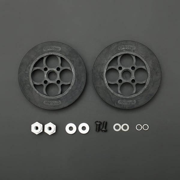 零件热卖推荐-136×24mm橡胶轮胎套件