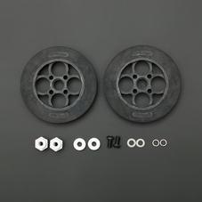 136×24mm橡胶轮胎套件