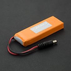 7.4V 2500MA 锂电池 (带充放电保护板)
