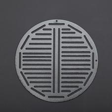 零件-多孔原型钣金板(圆形)