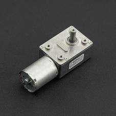 涡轮蜗杆直流减速电机 (12V 160RPM 2.2kg.c...