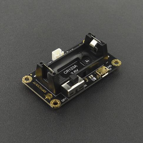 CR123A锂电池电源管理模块 micro:bit麦昆机器人专用