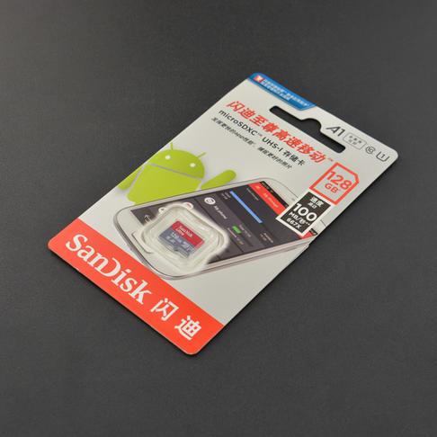 闪迪至尊高速移动microSD 128GB (TF) Class10 内存卡