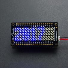 FireBeetle扩展板-FireBeetle 24×8 LED点阵屏(蓝色)