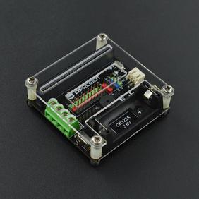 DFRobot新品推荐-Micro:IO-BOX 电机驱动扩展板