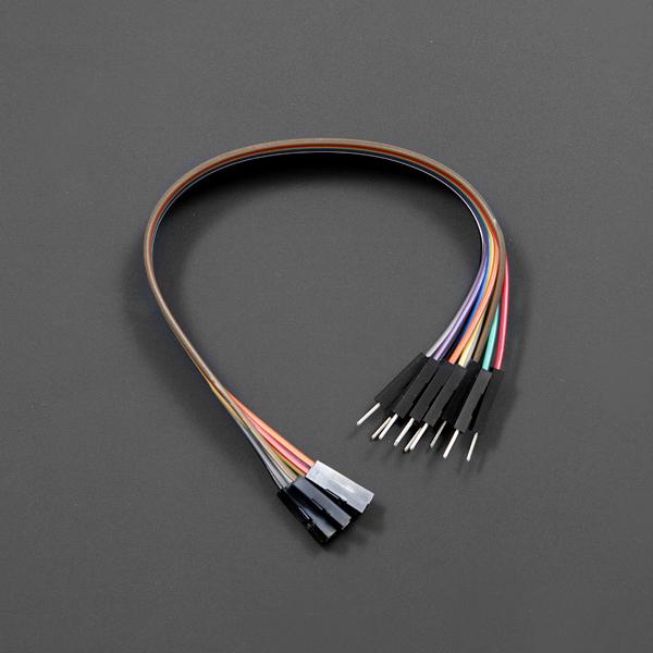 线材热卖推荐-180mm公母头跳线 10根