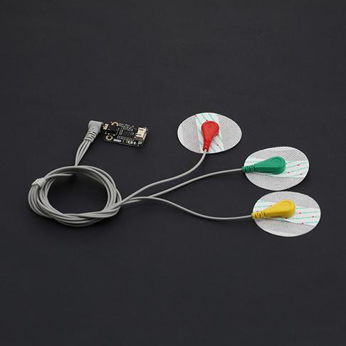 单导联心电检测传感器