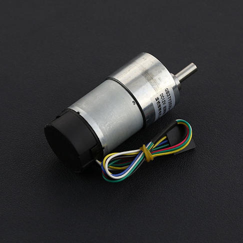 12V 直流减速电机83rpm 带编码器
