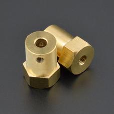 零件-銅質聯軸器 (4mm)