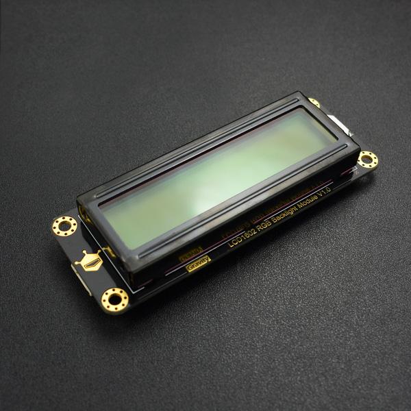LCD/LED/OLED显示屏热卖推荐-Gravity: I2C LCD1602 RGB彩色背光液晶屏