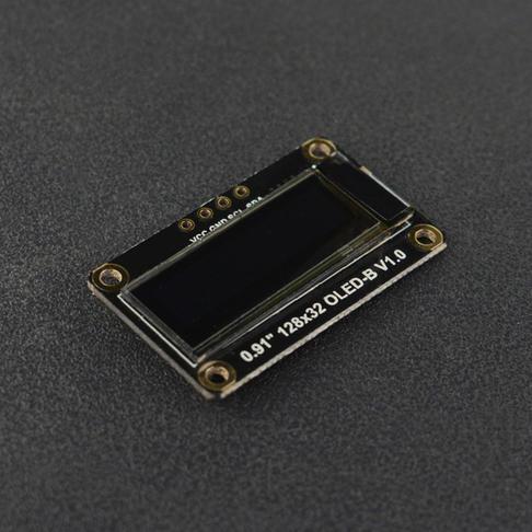 """0.91""""128x32 I2C OLED单色显示屏"""