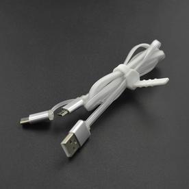 DFRobot创客商城新品推荐Type-C&Micro二合一USB线